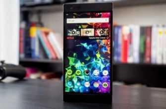 Обзор Razer Phone 2: смартфон для игр и не только — Отзывы TehnObzor