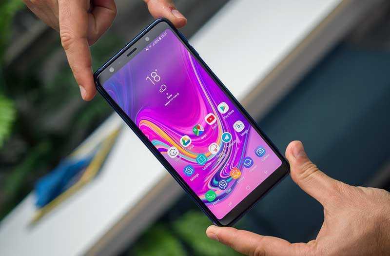 Samsung Galaxy A7 2018 дизайн