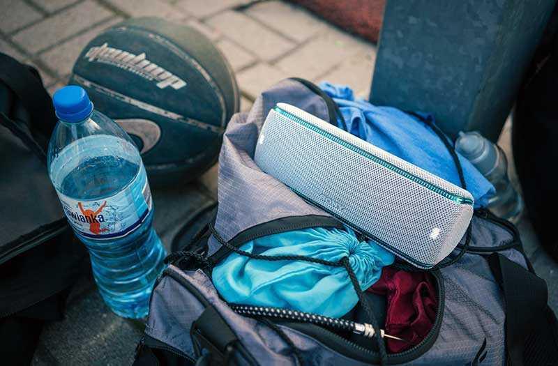 Sony SRS-XB31 не боится воды, пыли и падений