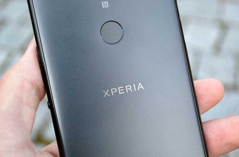 Sony Xperia XA2 Plus сканер отпечатка пальца