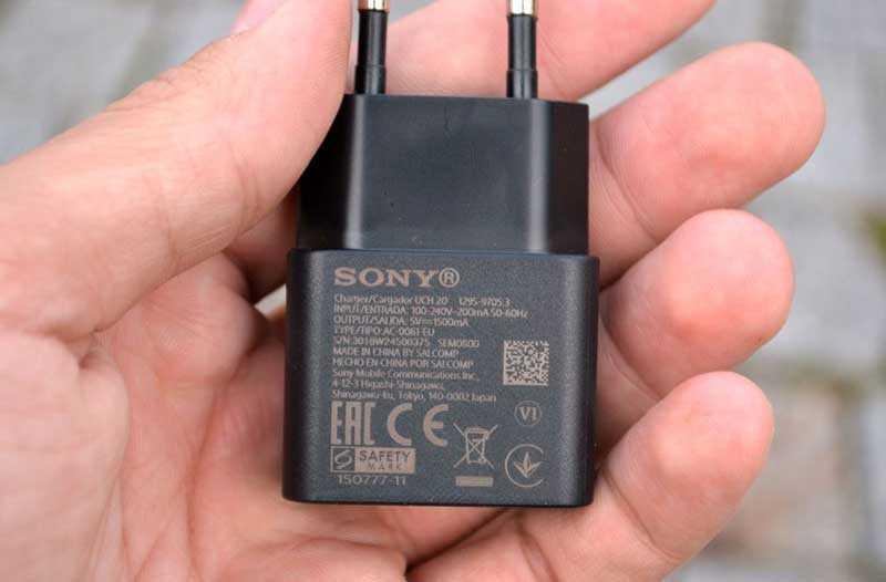 Автономность и зарядка Sony Xperia XA2 Plus