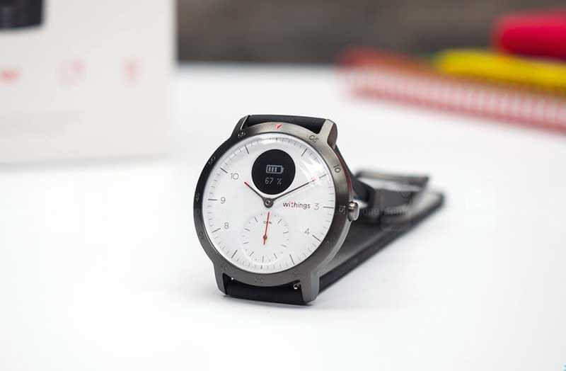 Withings Steel HR Sport дизайн