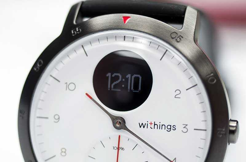 Экран Withings Steel HR Sport