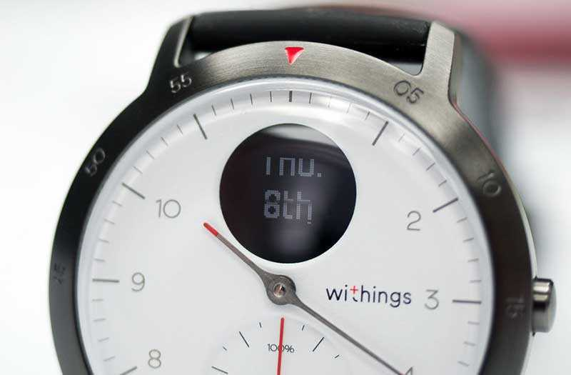 Withings Steel HR Sport уведомления