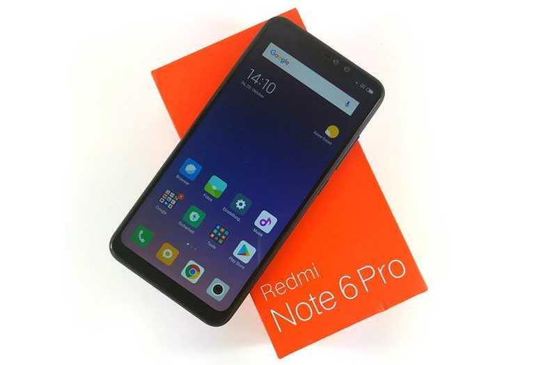 Xiaomi Redmi Note 6 Pro дизайн
