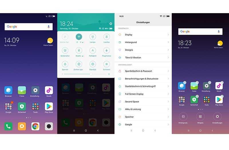 ПО и ОС в Xiaomi Redmi Note 6 Pro
