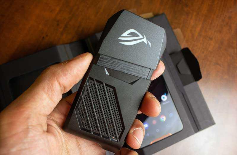 Asus ROG Phone система охлаждения