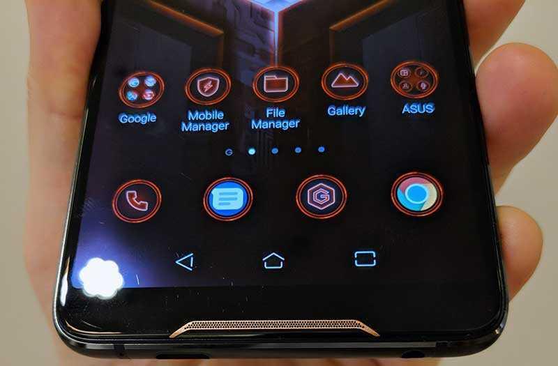 Asus ROG Phone динамики
