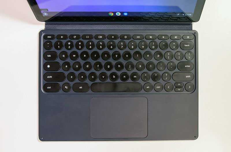Google Pixel Slate клавиатура