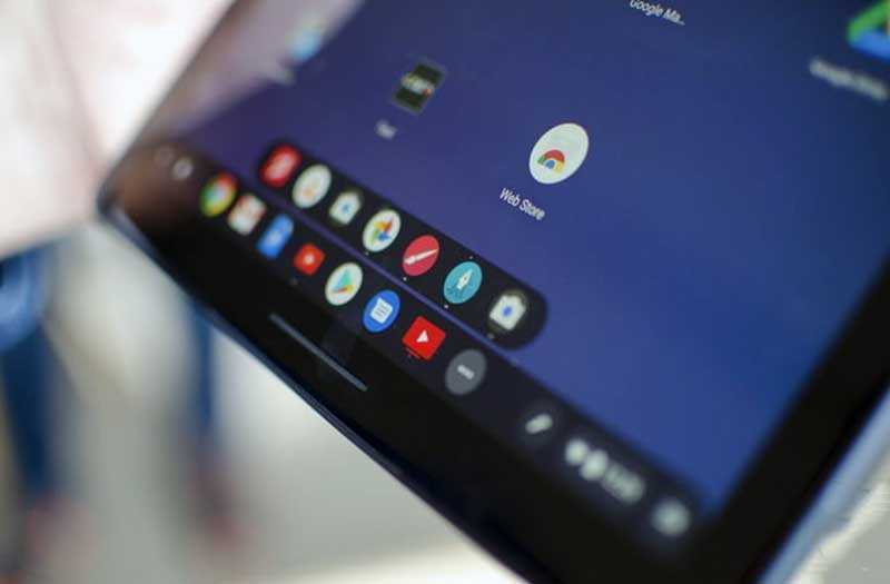 Google Pixel Slate ПО