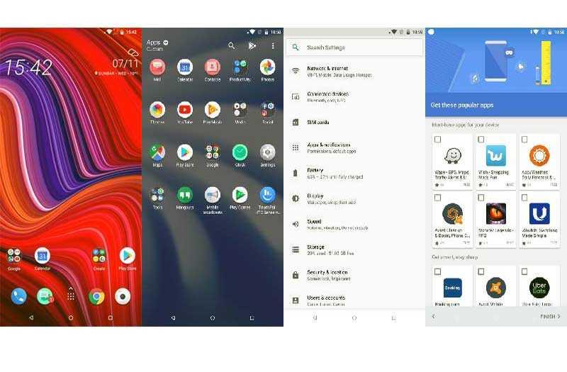 ОС и ПО в HTC U12 Life