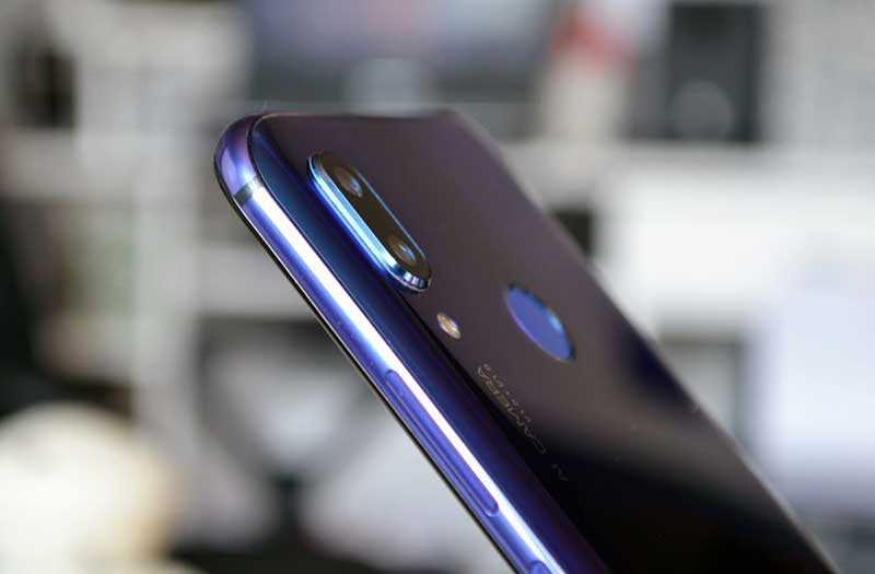 Huawei Nova 3 сканер отпечатка