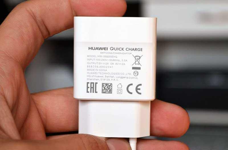 Huawei Nova 3 зарядное