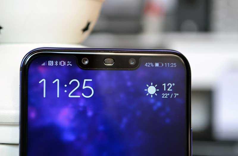 Huawei Nova 3 датчики