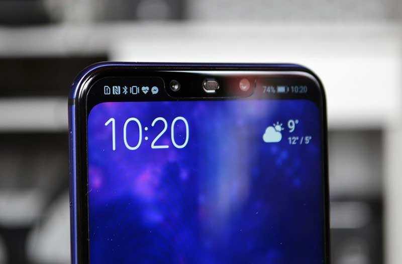Huawei Nova 3 сканер лица