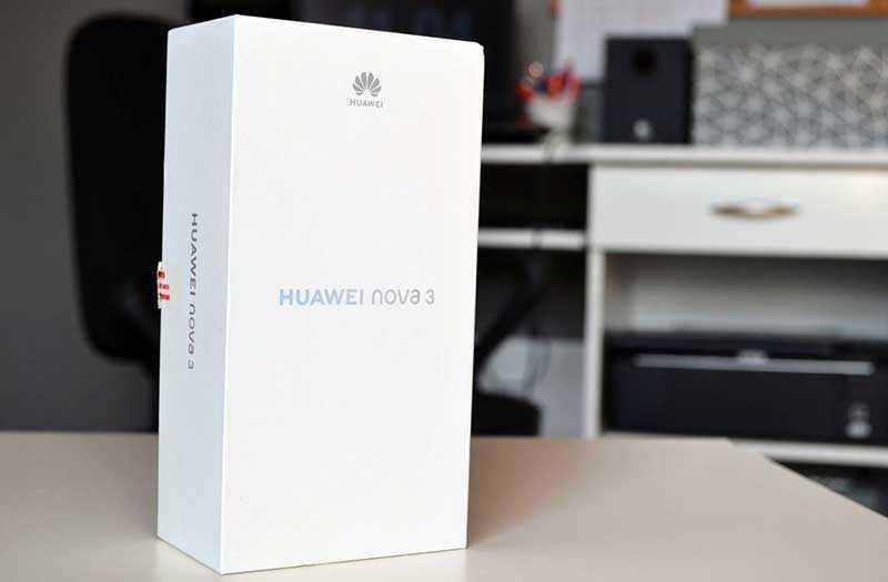 Характеристики Huawei Nova 3