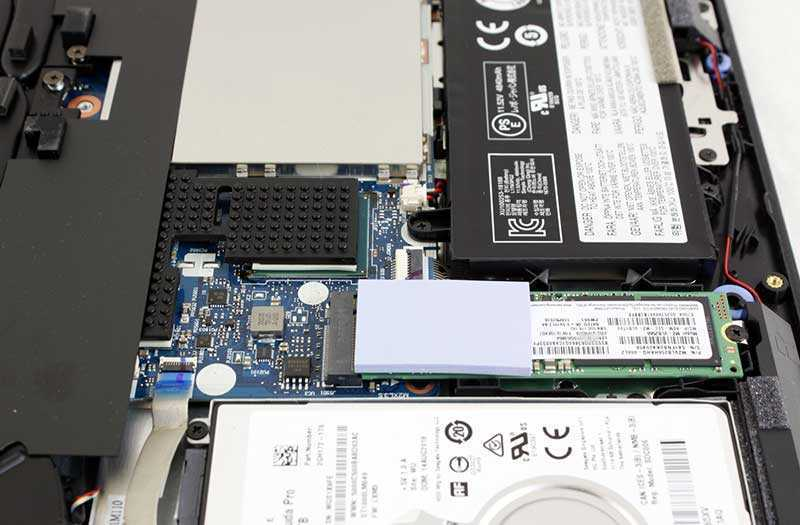 Lenovo Legion Y7000 объём памяти