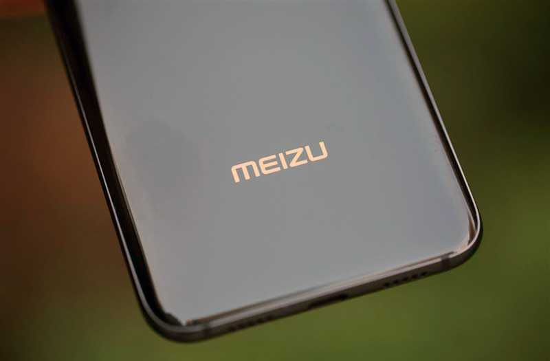 Meizu X8 сзади