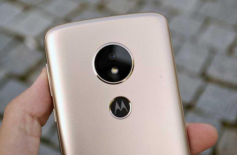 Motorola Moto E5 камера