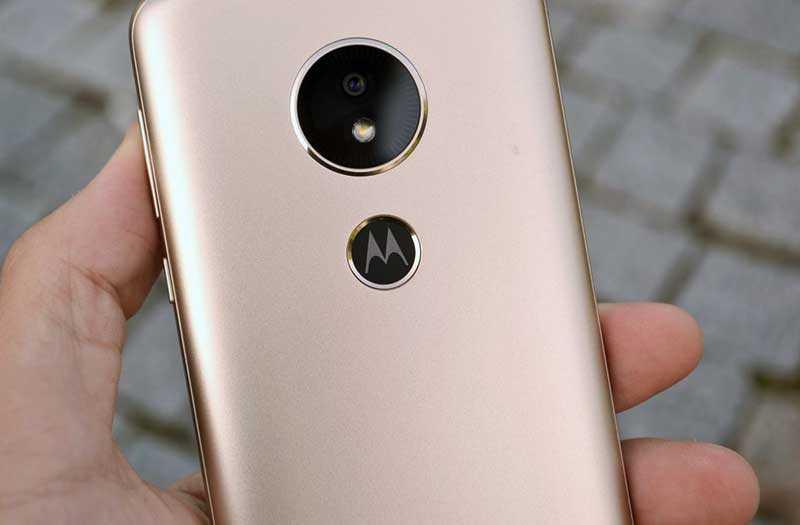 Motorola Moto E5 сканер отпечатка