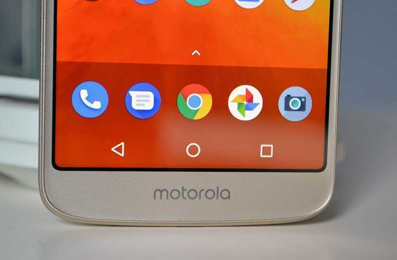 ОС и ПО Motorola Moto E5