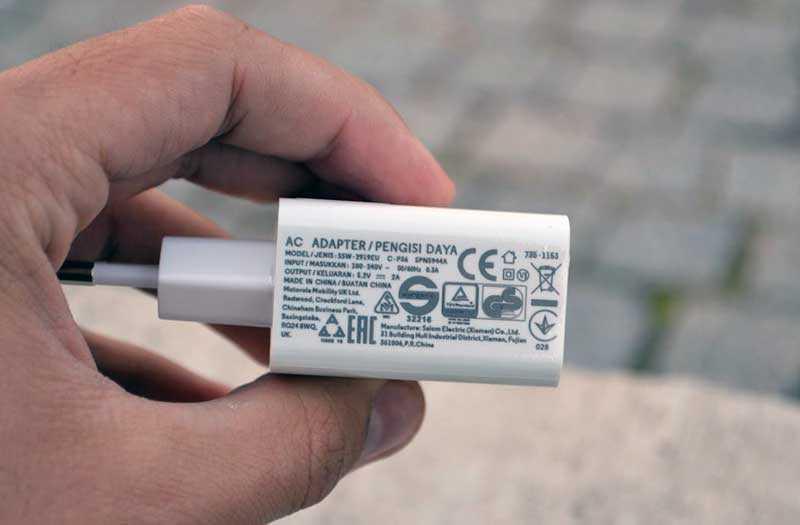 Motorola Moto E5 зарядное