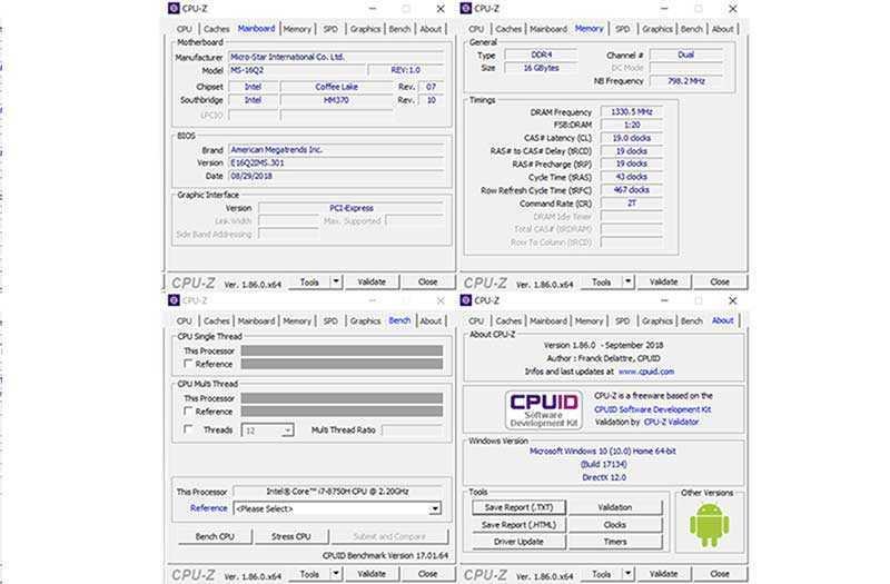 MSI P65 Creator мощность