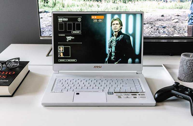 MSI P65 Creator экран