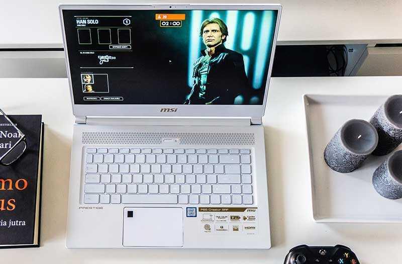 MSI P65 Creator дисплей