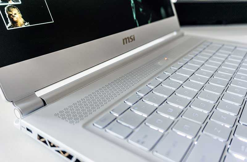 MSI P65 Creator клавиатура