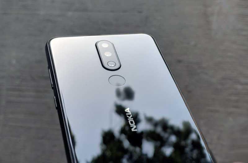 Nokia 5.1 Plus сзади