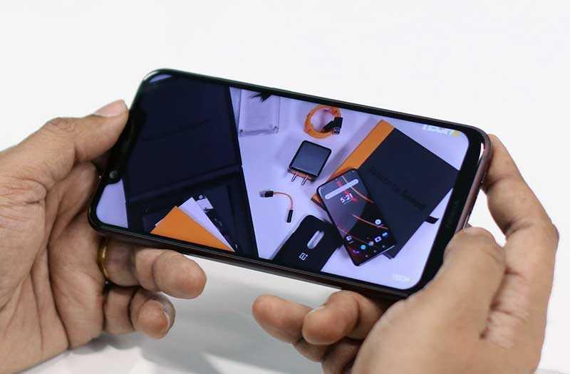 Nokia 8.1 камера