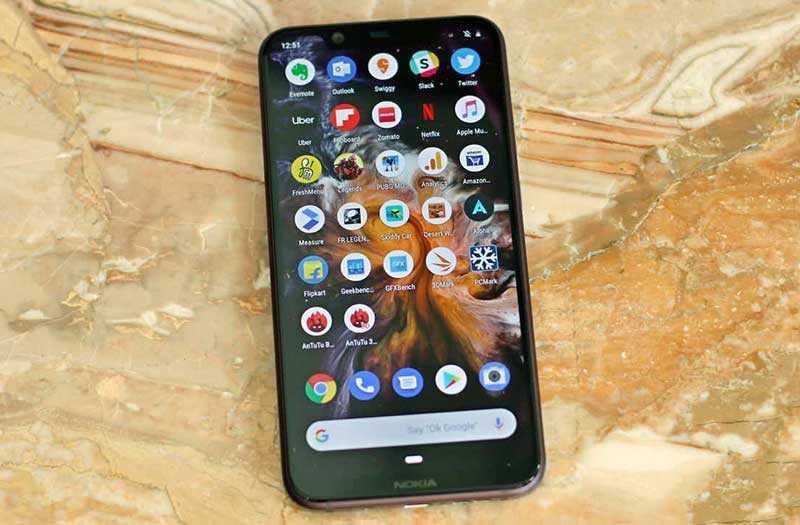 ПО в Nokia 8.1