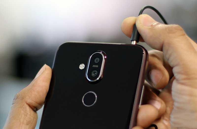 Nokia 8.1 звук