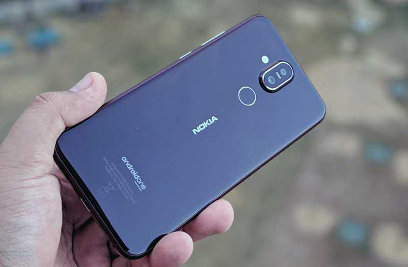 Обзор Nokia 8.1