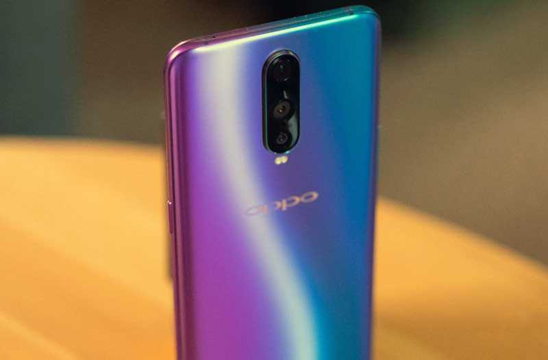 Oppo R17 Pro камера