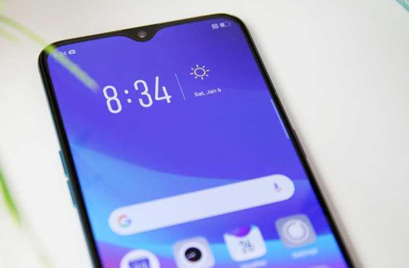 Oppo R17 Pro экран