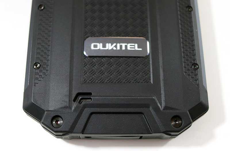 Oukitel WP2 звук