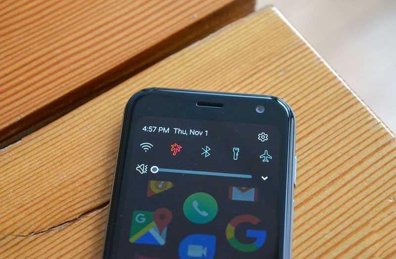 Palm Phone 2018 настройки