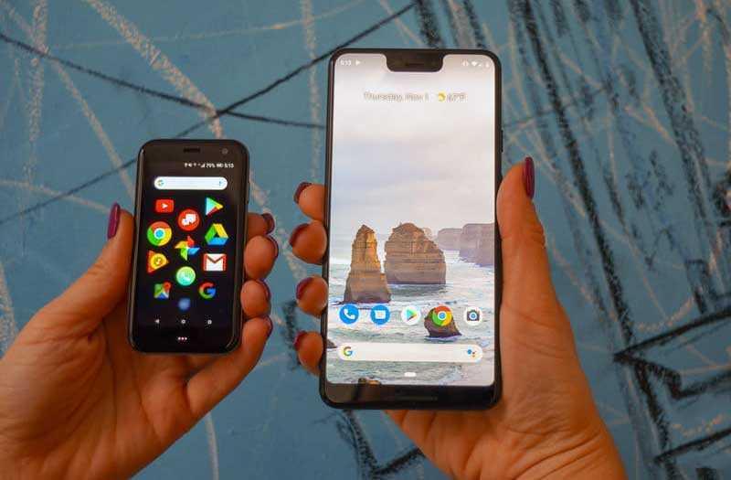 Сравнение Palm Phone 2018