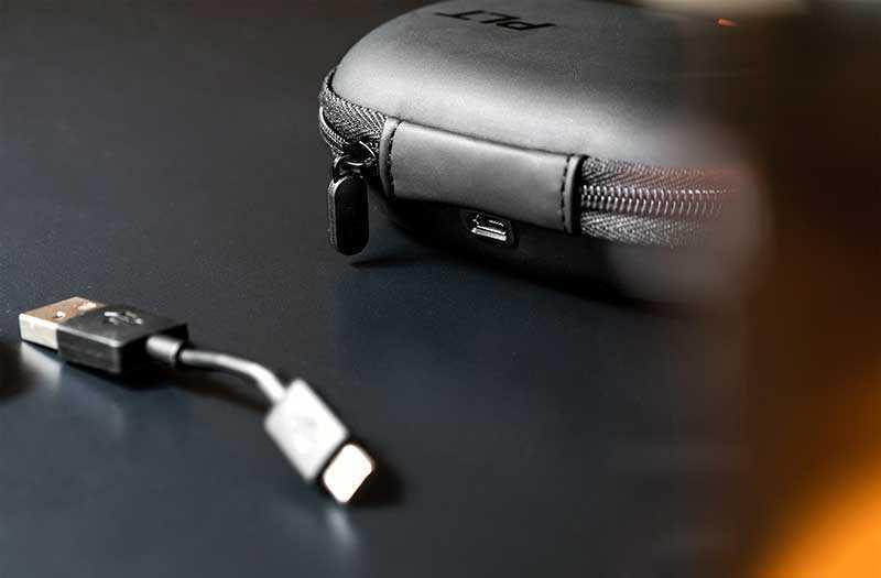 Plantronics BackBeat Fit 3100 автономность и зарядка