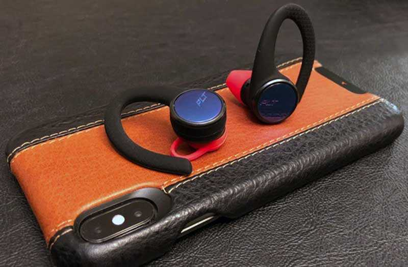 Plantronics BackBeat Fit 3100 управление