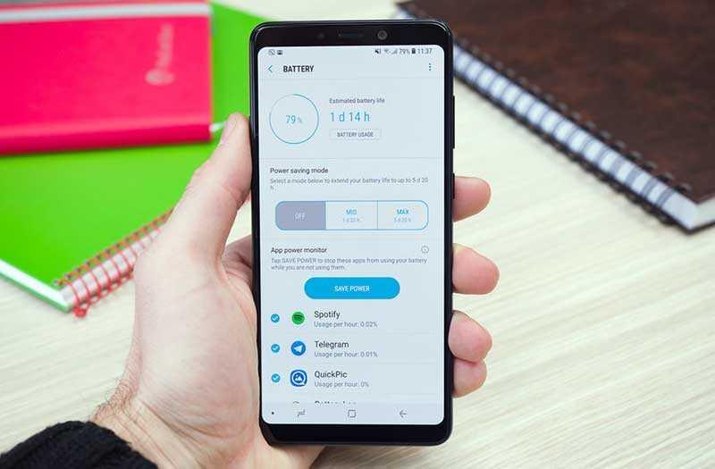 Samsung Galaxy A9 2018 производительность