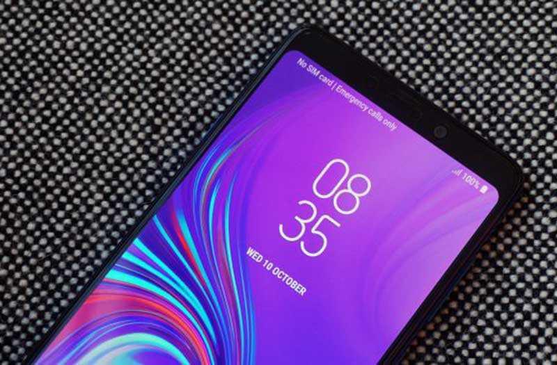 Samsung Galaxy A9 2018 экран