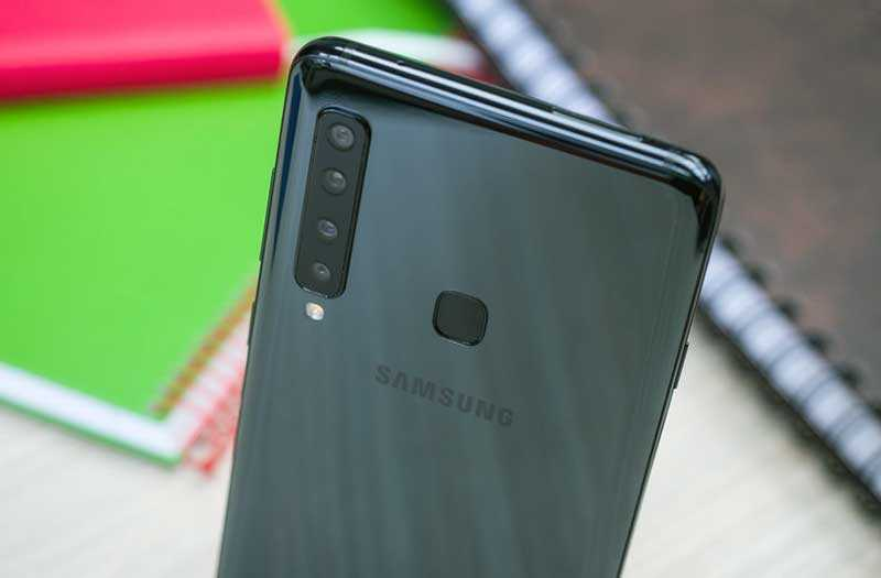 Samsung Galaxy A9 2018 сканер