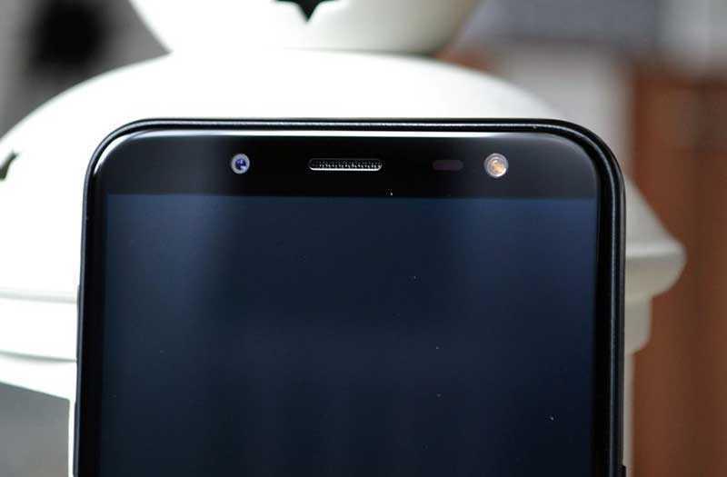 Samsung Galaxy J6 2018 сканер лица