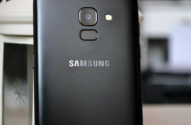 Samsung Galaxy J6 2018 сканер