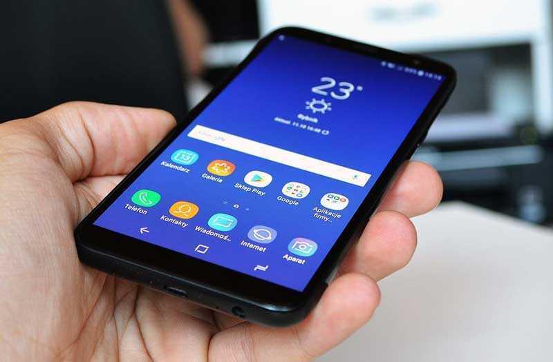 Samsung Galaxy J6 2018 ОС и ПО