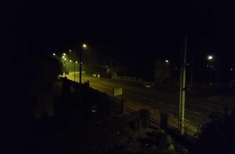 TP-Link Neffos C9A ночная съёмка