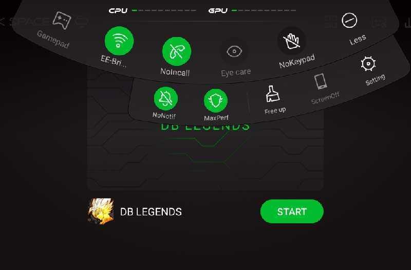 Xiaomi Black Shark режимы